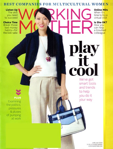 Working Mother Cover - 6/1/2016