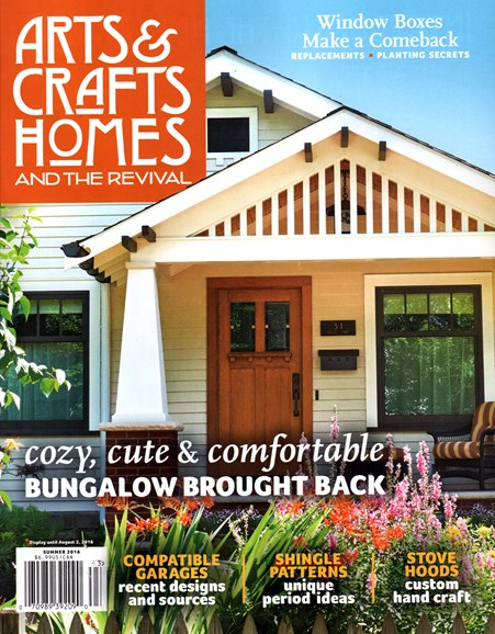 Arts & Crafts Homes Cover - 6/1/2016
