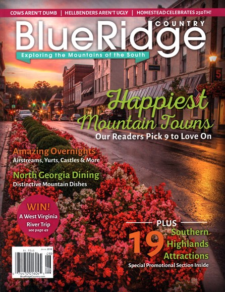 Blue Ridge Country Cover - 6/1/2016