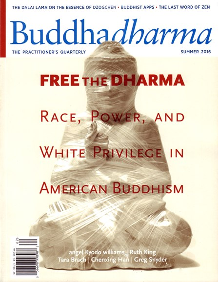 BUDDHADHARMA: THE PRACTIONER'S QUARTERLY Cover - 6/1/2016