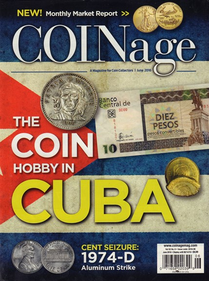 Coinage Cover - 6/1/2016