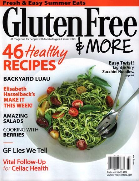 Gluten Free & More Cover - 6/1/2016