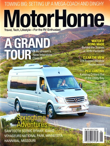 MotorHome Cover - 6/1/2016
