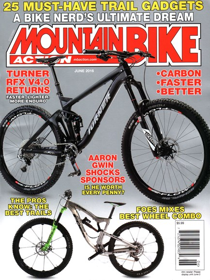 Mountain Bike Action Cover - 6/1/2016