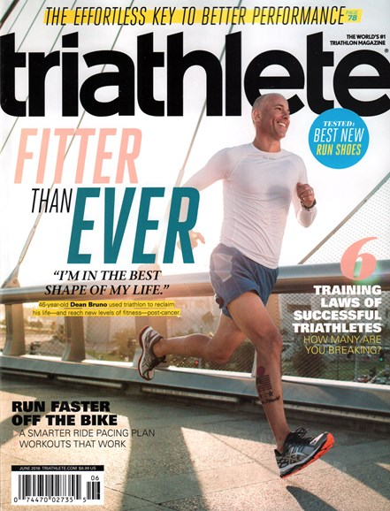 Triathlete Cover - 6/1/2016