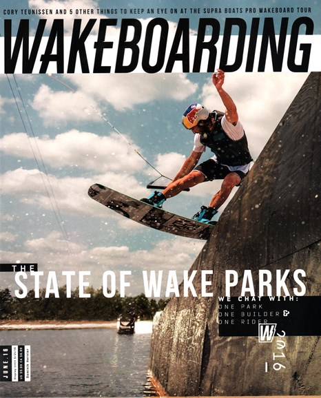 Wake Boarding Cover - 6/1/2016