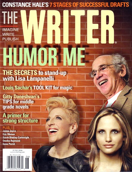 The Writer Cover - 6/1/2016