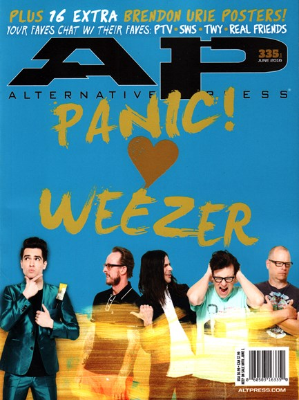 Alternative Press Cover - 6/1/2016