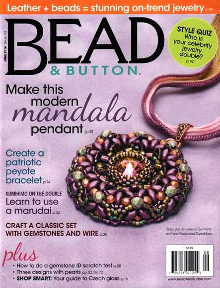 Bead & Button Cover - 6/1/2016