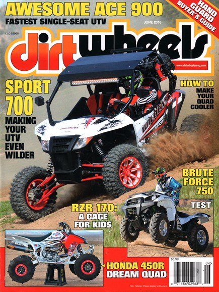 Dirt Wheels Cover - 6/1/2016