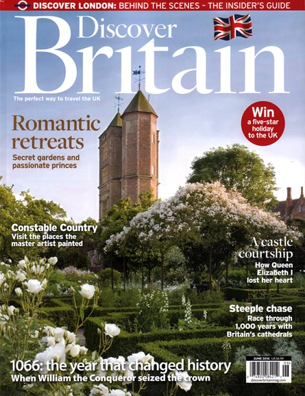 Discover Britain Cover - 6/1/2016