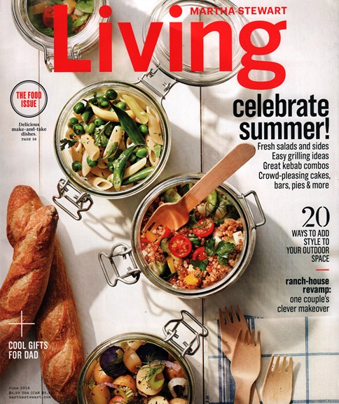Martha Stewart Living Cover - 6/1/2016