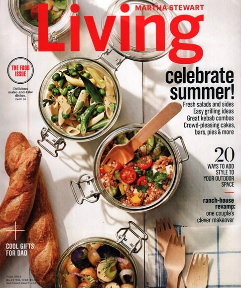 Martha Stewart Living Cover - 6/1/2016
