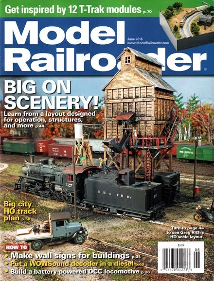 Model Railroader Cover - 6/1/2016
