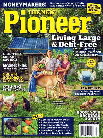 The New Pioneer Cover - 6/1/2016