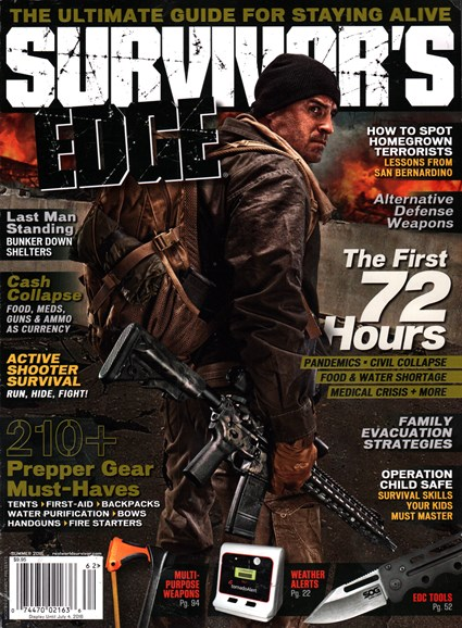 Survivor's Edge Cover - 6/1/2016