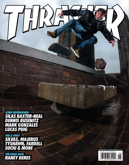 Thrasher Cover - 6/1/2016