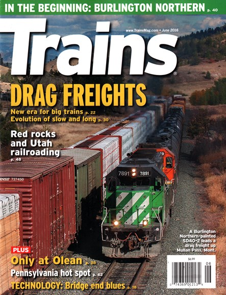 Trains Cover - 6/1/2016
