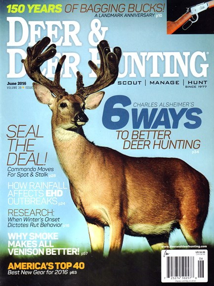 Deer & Deer Hunting Cover - 6/1/2016