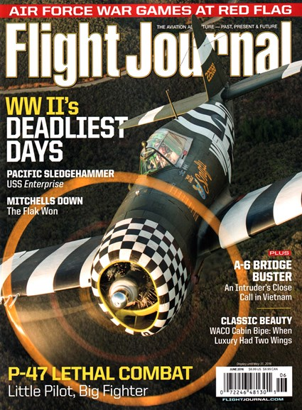 Flight Journal Cover - 6/1/2016