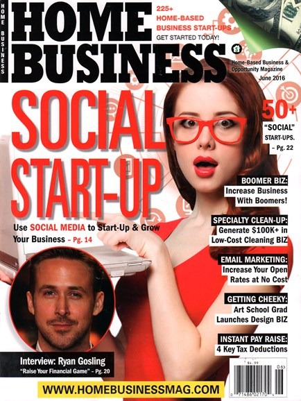 Home Business Magazine Cover - 6/1/2016