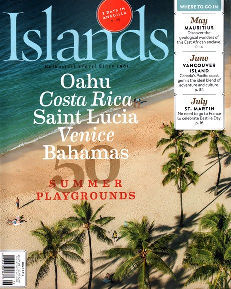 Islands Cover - 6/1/2016