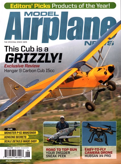 Model Airplane News Cover - 6/1/2016