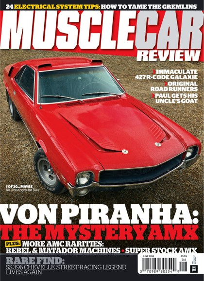 Muscle Car Review Cover - 6/1/2016