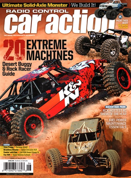Radio Control Car Action Cover - 6/1/2016