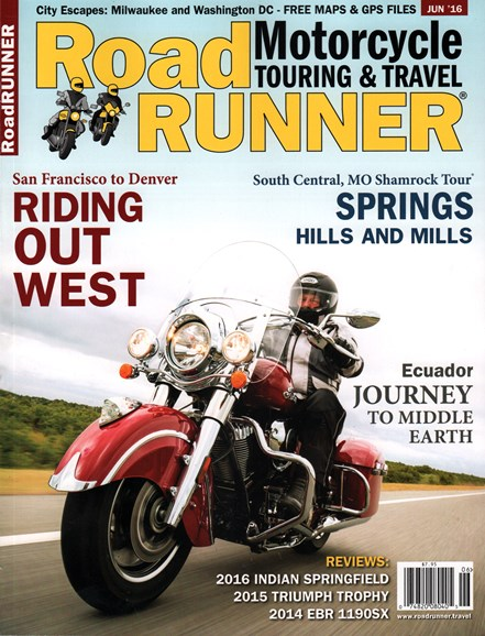 Road RUNNER Motorcycle & Touring Cover - 6/1/2016