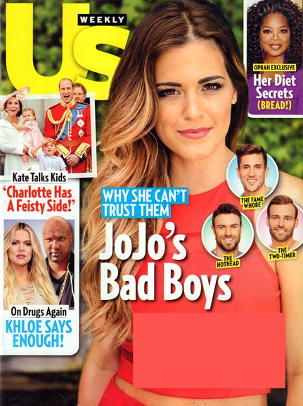 Us Weekly Cover - 6/27/2016