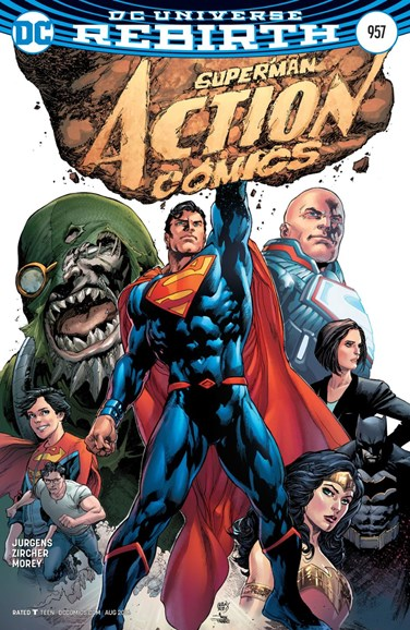 Action Comics Cover - 8/1/2016