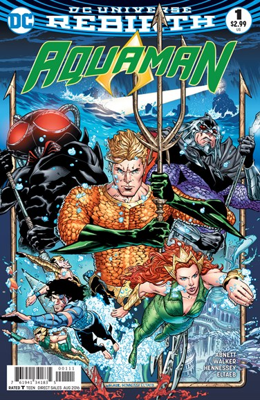 Aquaman Cover - 8/1/2016
