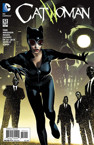Catwoman Cover - 7/1/2016