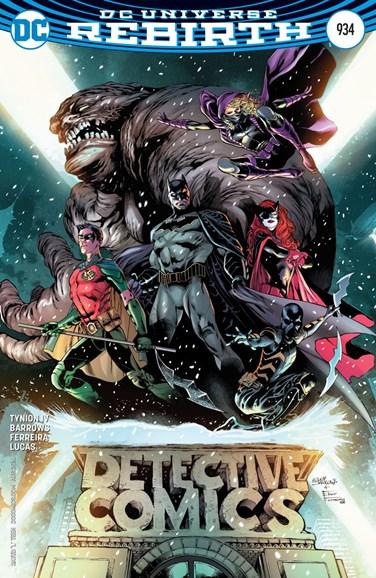 Detective Comics Cover - 8/1/2016