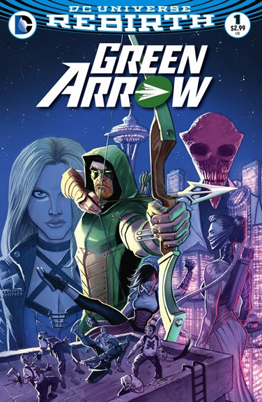 Green Arrow Cover - 8/1/2016