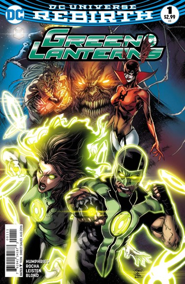 Green Lanterns Cover - 8/1/2016
