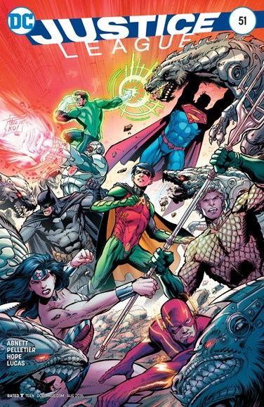 Justice League Cover - 8/1/2016