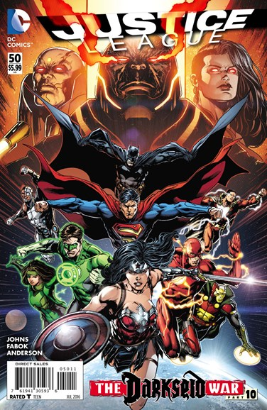 Justice League Cover - 7/1/2016