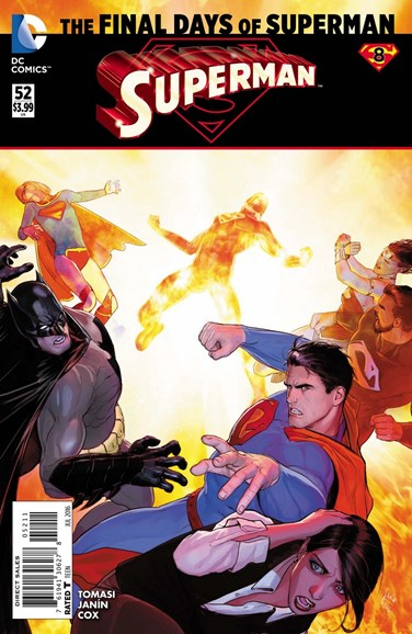 Superman Cover - 7/1/2016