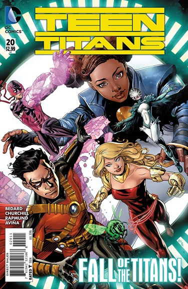 Teen Titans Cover - 7/1/2016