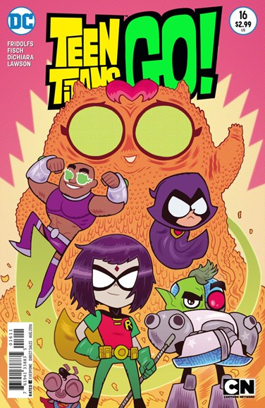 Teen Titans Go! Cover - 8/1/2016