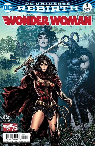 Wonder Woman Cover - 8/1/2016