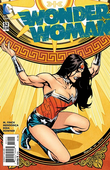 Wonder Woman Cover - 7/1/2016