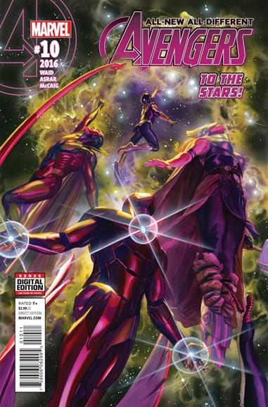 Avengers Cover - 8/1/2016