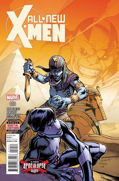 X-Men Blue Cover - 8/1/2016