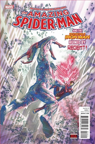 Amazing Spider-Man Cover - 8/15/2016