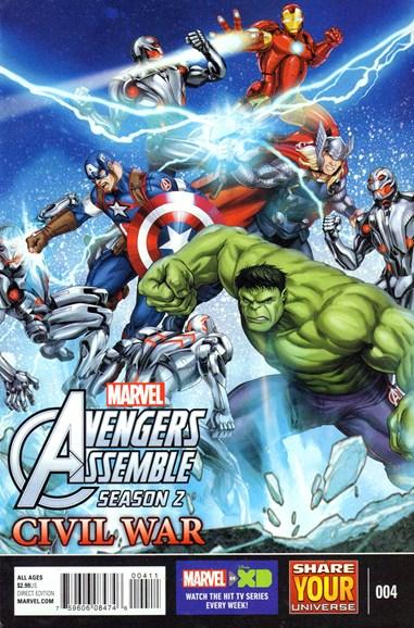 Marvel Universe Avengers Assemble Cover - 8/1/2016