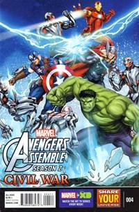 Marvel Universe Avengers Assemble | 8/1/2016 Cover