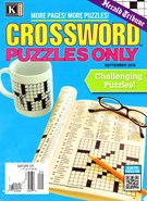 Herald Tribune Crossword Puzzles Magazine 9/1/2016
